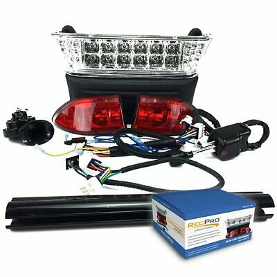 $195.95 • Buy Club Car Precedent GAS Golf Cart LED Deluxe Light Kit W/ Turn Signals '08.5-UP