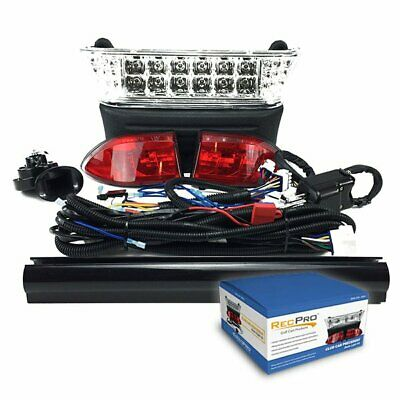 $199.95 • Buy Club Car Precedent Golf Cart Deluxe LED Light Kit W/Turn Signals 08.5-UP