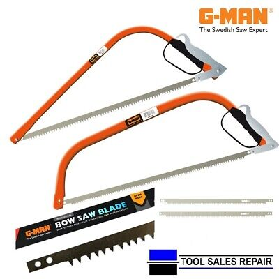 £13.99 • Buy G-Man Bow Saw, Knuckle Guard, Made In Sweden, Wood Tree Bowsaw, Spare Blades