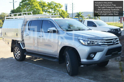 AU3498 • Buy Brand New Aluminium Ute Tray & Canopy Package - Dual Cab Toyota Hilux