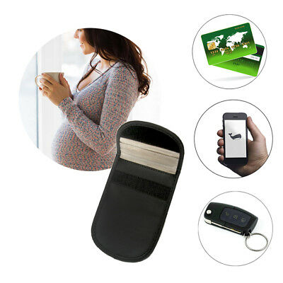 Mobile Cell Phone RF Signal Blocker Anti-Radiation Shield Case Pouch Black Hot • 2.76£