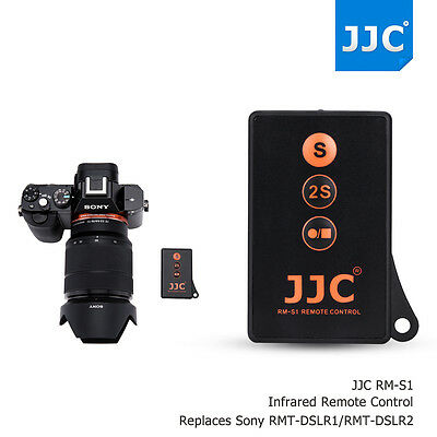 AU11.99 • Buy JJC Wireless Remote Control For Sony A9 A7 Mark III II A7SII A7R As  RMT-DSLR2/1