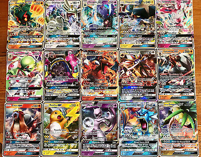 AU13.95 • Buy 30 Pokemon Cards - 1x GX Or EX Or Break Or V Ultra Rare +3 Rare & Holo Cards