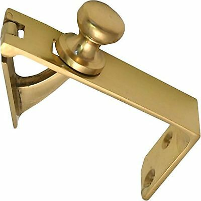 Counter Flap Catch Polished Brass Bar Pub Shop Counterflap Latch  • 7.99£