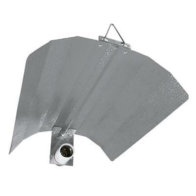 £25 • Buy LUMii BLACK Reflector / Shade With E40 Light Fitting - FITS HPS - MH - CFL