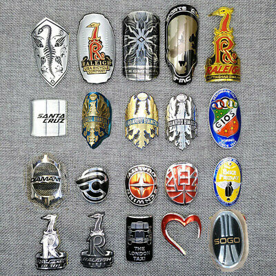 £6.25 • Buy Metal Head Badge Bike BMX Decals Bicycle Fixed Gear Tube Frame Stickers