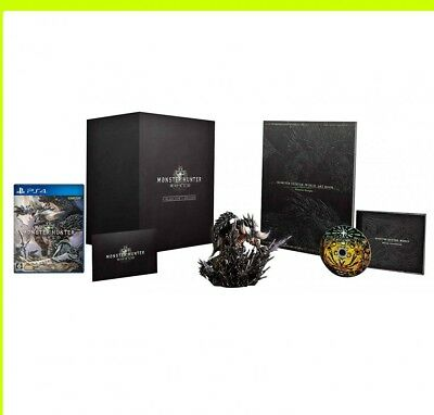AU294.96 • Buy PS4 Monster Hunter World Collector's Edition Game Soft Box Hunter: Japan
