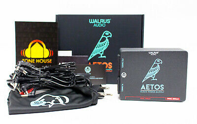 $ CDN220.82 • Buy Walrus Audio Aetos 120V Clean Power Supply 8 Output For Pedal Boards