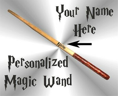 $4.99 • Buy Harry Potter 10 Inch Magic Wand Personalized Wizard Wand Hermione Shipping Free