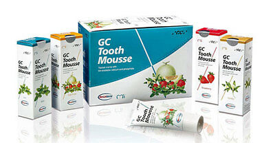 AU39.99 • Buy 2x, 3x Or 4x GC Tooth Mousse 40g Tubes - Mint, Strawberry & Vanilla Flavours