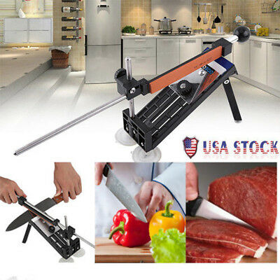 $23.41 • Buy Pro Knife Sharpener Kitchen Sharpening System Fix-angle With 4 Stone Tool Kit US