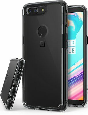 AU14.69 • Buy For OnePlus 5T   Ringke [FUSION] Clear PC Back Shockproof Protective Cover Case