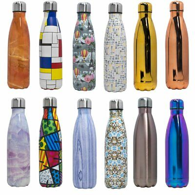 AU23.89 • Buy Thermos Vacuum Flask Insulated Double Wall Drink Water Bottle Stainless Stell
