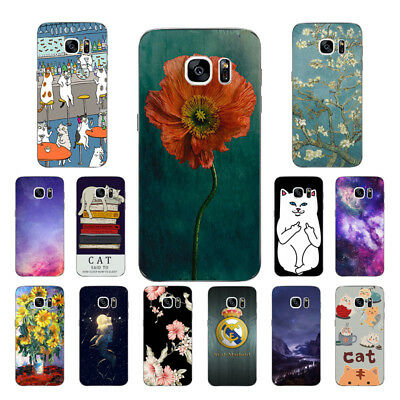 $ CDN3.93 • Buy Soft TPU Silicone Case For Samsung Galaxy S7 Edge Phone Back Cover Skins Cats