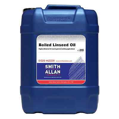 Boiled Linseed Oil Wood Treatment 20 Litre 20L • 69.99£