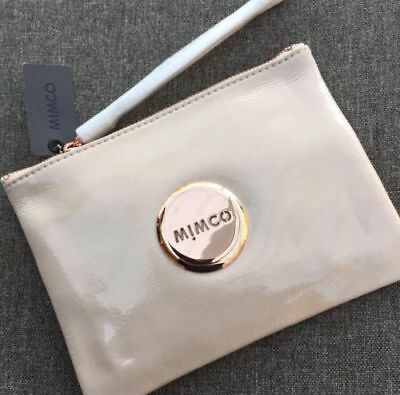 AU45.99 • Buy Mimco Pancake Patent Leather Medium Pouch Wallet • Authentic Rrp $99.95