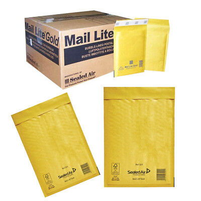 £21.54 • Buy Padded Bubble Bags Envelopes Gold Postal Strong And Cheap Mail Bags - Mail Lite