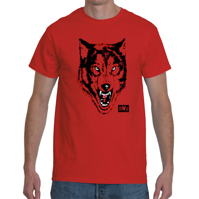 $ CDN43.86 • Buy Red NWO Wolf Pack Wrestling Legends Shirt