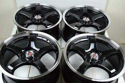 $380.16 • Buy 17 Wheels Accord Civic Sonata Tiburon Cooper Legend Ion Miata 4x100 4x114.3 Rims