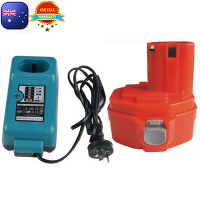 AU26.48 • Buy Battery For Makita 14.4V 3.0Ah Ni-MH 1420 1422 6237D 6932D + Compatible Charger
