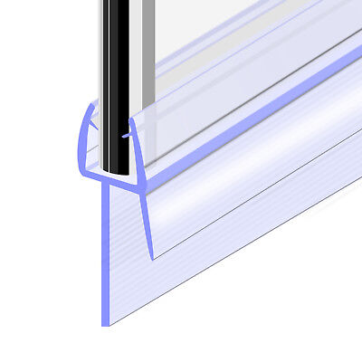Bath Shower Screen Door Seal Strip For Glass Thickness 4mm - 6mm Seal Gap 20mm • 5.29£