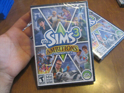 £19.54 • Buy The Sims 3: Ambitions PC MAC BRAND NEW FACTORY SEALED