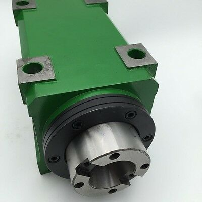 $449.99 • Buy BT40 Power Head Spindle Motor 3000RPM Drilling Milling Tapping Spindle Unit CNC