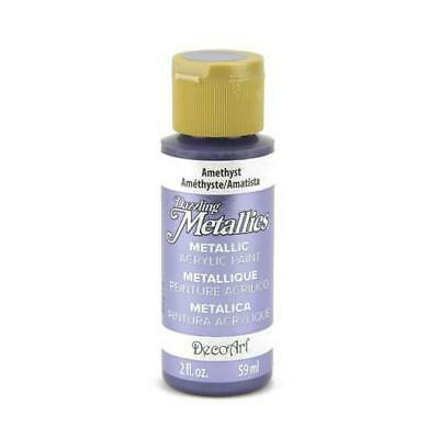 DecoArt Dazzling Metallics Acrylic Paint 59ml (2oz) • 2.69£