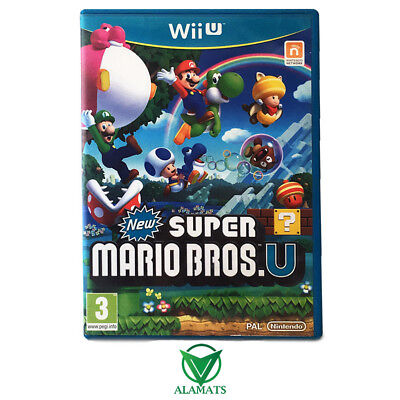 AU46.95 • Buy New Super Mario Bros U (Wii U)  Side Scrolling Platformer - Family - Kids - PAL