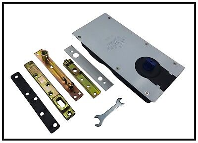 P-32 Floor Spring Glass Hinge Closer For Door Weight:80-110KG  • 67.99£
