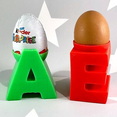 £8.80 • Buy Egg Cup Holder - Initial - Personalised - Easter - New Home Gift - Valentines