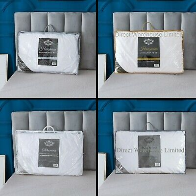 100% Hungarian Goose Down Pillows, Premium Quality Item Soft Feel & Luxurious • 18.99£