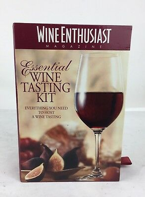 Essential Wine Tasting Kit By Wine Enthusiast Magazine NEW • 9.99$