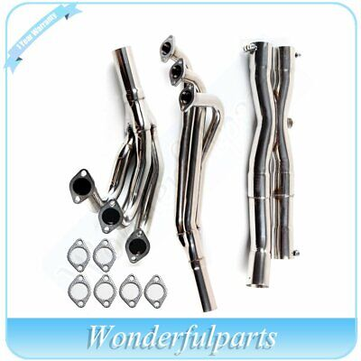 $85.99 • Buy FOR BMW E30 3-Series 86-91 M20 2.5/2.7L Stainless Header Manifold+Y-Pipe Exhaust
