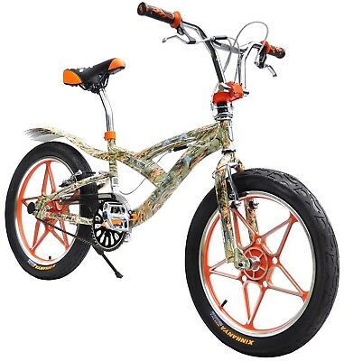 AU289 • Buy Brand New 20  BMX Bicycle Bike V Brake 3.0 Tyres Aluminium Wheels-Orange