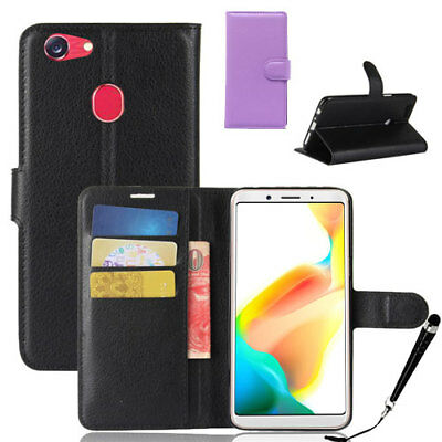AU12.59 • Buy  HQ Wallet Money Card Leather Case Cover For OPPO A73 + FREE Stylus