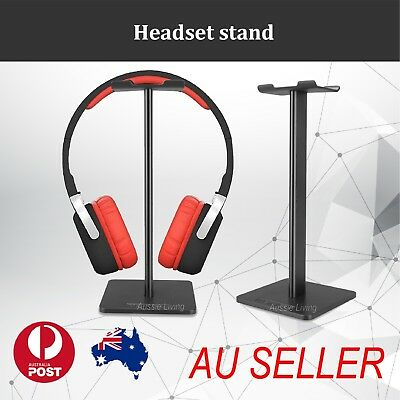 AU8.89 • Buy New Universal Gaming DJ Gamer Headphone Headset Hanger Bracket Holder Rack Stand