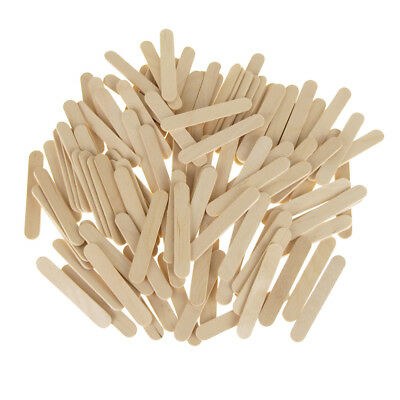 Wooden Craft Popsicle Sticks, Natural, 2-1/2-Inch, 120-Piece • 6.65$