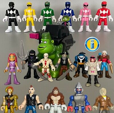 £3.99 • Buy ALL IMAGINEXT FIGURES Series Power Rangers Action Heroes. Loose *Please Select*