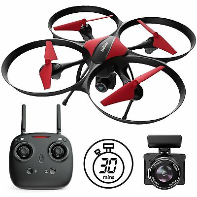 AU128.73 • Buy Force1 U49C Drone With Camera For Beginners – HD 720P RC Camera Drones 2 Battery