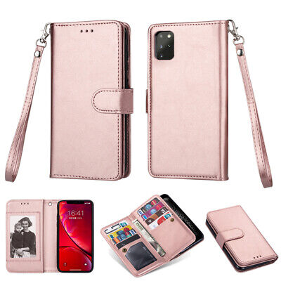 AU16.99 • Buy IPhone 11 Pro Max XS 6 7 8 Plus Luxury Wallet Case Leather Removable Cover