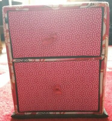 Pink Jewellery Box, Floral Design, Has Two Compartments. Excellent Condition  • 15£