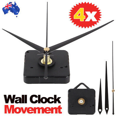 AU12.95 • Buy Silent DIY Quartz Movement Wall Clock Motor Mechanism Long Spindle Repair Kit