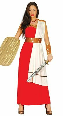£12.99 • Buy Womens Spartan Costume Warrior Roman Toga Gladiator Fancy Dress Ladies Outfit