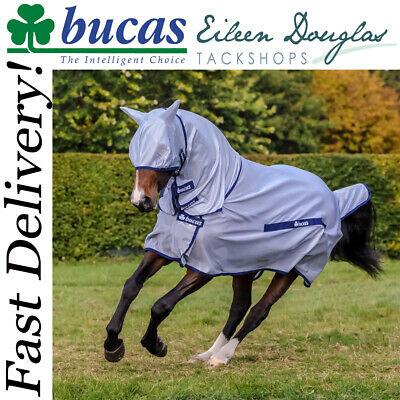 £74.95 • Buy Bucas Buzz-off Full Neck Fly Rug **all Sizes***
