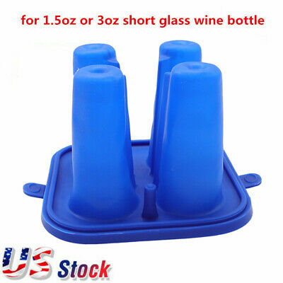 $18.05 • Buy US Stock 3D Sublimation Silicone Mug Mold Clamps For Short Glass Wine Bottle