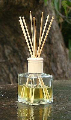 MAGNOLIA BLOSSOMS Floral Scented Diffuser Aroma Reeds In A Heavy Glass Jar GIFTS • 11.21£