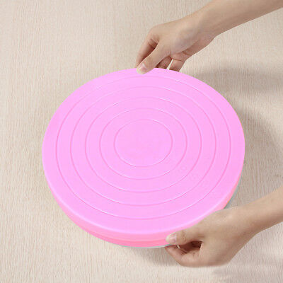 Small Cake Revolving Turntable Decorating Stand Platform Rotating Icing Tools • 4.99£