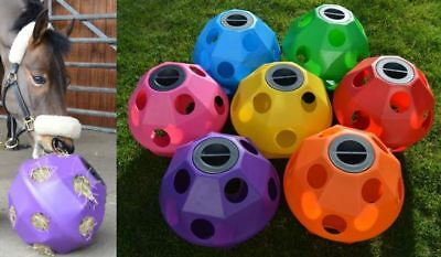 £39.99 • Buy Equine Horse And Pony Hay Ball Treat Feeder, 7 X Colours Available *NEW*