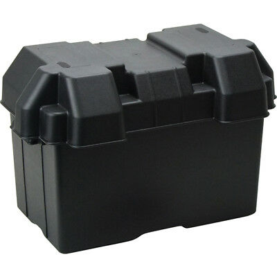 AU35.37 • Buy Battery Box With Vents Strap And Fastenings Battery Box Large Suits N70Z Battery